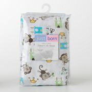 Just Born Best Friends Fitted Crib Sheet