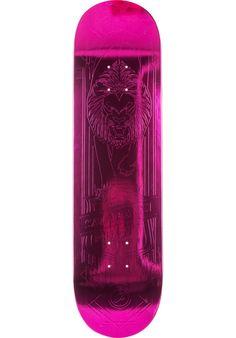 Primitive-Skateboards Salabanzi-Pink-Foil-Lion - titus-shop.com  #Deck #Skateboard #titus #titusskateshop