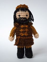 Inspired by the rich world of A Game of Thrones, the dolls of the Medieval Fantasy series could make a special gift for a grown-up fan or cute toys for a child.