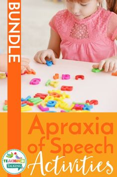 Apraxia Activities Value Bundle for Speech Therapy
