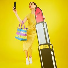 Let's make a GABSELFIE!  #girlslovebluebotton #gabs #gabskorea #gabsginza #gabsofficial #gabsborseeaccessori #gabsborse #bagshop #accessories #bag #bags #Italian #Fashion #design #creative #style #styles #stylish #Colore #Colori #Colors #Colours #Smile #Fun #Happyness #bepositive #positivevibe #funny #ironic
