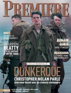 dunkirk, film, premiere magazine, cover harry styles