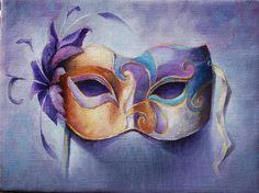 Half Mask by Geraldine Arata