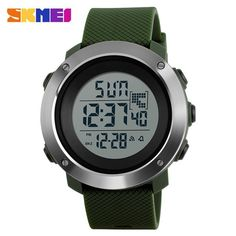 Men Sports Watches Double Time Digital Wristwatches Water Resistant LED  Display Watch Watches For Men 4c08837935