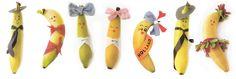Bananen versieren