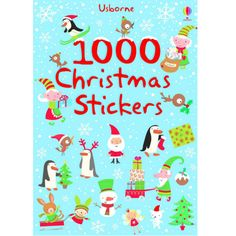 1000 Christmas Stickers (Usborne Sticker Books) of Stickers). Publisher:Usborne Publishing Ltd. There are over 1000 irresistible festive stickers to fill the Christmas scenes in this book - or put wherever you like! Christmas Scenes, Christmas Books, Christmas 2017, Christmas Gifts, Christmas Ornaments, Homemade Christmas, Christmas Ideas, Cajun Night Before Christmas, Fiona Watt