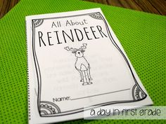LOVE this student reader to teach students all about reindeer!!