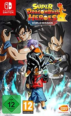 Super Dragon Ball Heroes World Mission Hero Edition Card Game Nintendo Switch Dragon Ball Z, New Dragon, Create Your Own Avatar, Playstation, Bandai Namco Entertainment, Video Game Collection, Hero World, Battle Games, Nintendo Switch Games