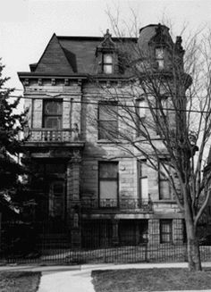 Cleveland's Franklin Castle is known as Ohio's most haunted house.  It was built in the mid 1800s.