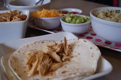 Make 5 Dinners in ONE hour: Burrito Bar