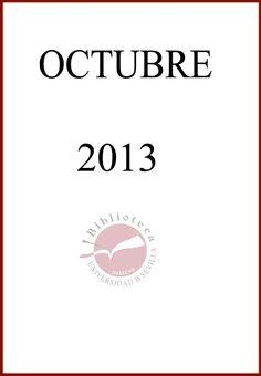 Nuevas adquisiciones en Derecho Administrativo. Octubre 2013.
