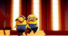 Check out all the awesome minions gifs on WiffleGif. Including all the despicable me gifs, excited gifs, and happy gifs. Minion Gif, Minions Love, Minion Jokes, Minions Quotes, Dance Memes, Dance Humor, Minion Pictures, Funny Pictures, Cartoon Gifs