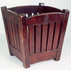 Roycroft Wastebasket, From the Roycroft Inn. SOLD $3,080