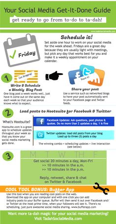SOCIAL MEDIA  Your Social Media Get-It-Done Guide