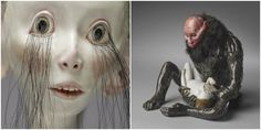 Super strange sculptures only the dark and demented could love