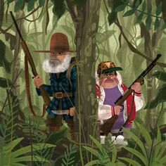""": """"We didn't choose the skux life. The skux life chose us. If you haven't seen Hunt for the Wilderpeople you're missing out. Wilder People, Hunt For The Wilderpeople, Pop Culture Art, Visual Development, Film Music Books, Character Design References, Marvel Movies, Graphic Illustration, Illustrations"""