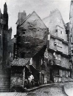 Steep Street - Host Street to Griffin Lane -road line altered and became Colston Street. 1871 Joseph Dann chimney sweeper Edward Robins umbrella maker John Murphy newsagent Rosamond Holloway marine stores John Weeks boot make Victorian London, Victorian Life, Vintage London, Victorian Street, London History, British History, Asian History, Tudor History, Antique Photos