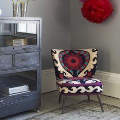 Alpana Suzani Chair