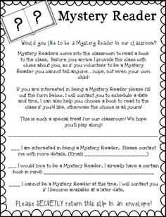 Mystery readers can make read alouds more fun! Learn how you can implement this fun tradition in your classroom!