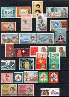 Pakistan-29-U-M-Stamps