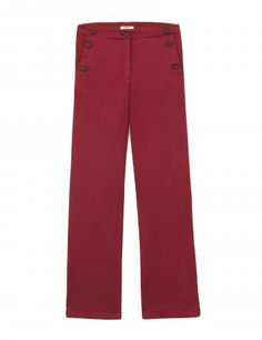 Rini Trousers in Red in Red  http://www.medwinds.com/store/esen/mujer/novedades/rini-trousers-in-red.html?order==asc#