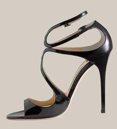 Jimmy choo lance | Home >> Jimmy Choo Sandals >> Black Jimmy ChooSandals Lance Patent ...