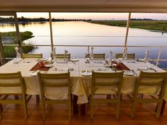 Just look at that view! A journey aboard one of the Chobe Princesses is a once-in-a-lifetime opportunity!