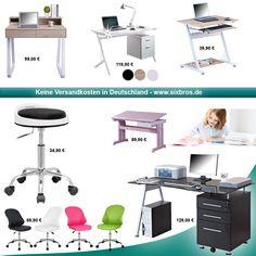Neue Büromöbel bei www.SixBros.de  https://www.sixbros.de/buero-zubehoer.html