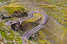 Fragment of a high altitude road in the mountains.Location:Transfăgărășan road the second highest road in Romania. High Road, What The World, Medieval Town, Birds In Flight, Adventure Travel, Greece, Tourism, Transylvania Romania, Stock Photos