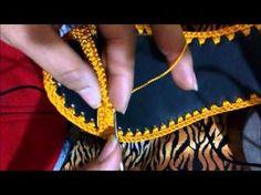 ZAPATO VERDE VICHE EN CROCHET (FT. CREACIONES NATY) - YouTube
