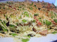 Салат из ресторана Top Salad Recipe, Salad Recipes, Blue Food, Russian Recipes, International Recipes, Food Photo, I Foods, Healthy Lifestyle, Food And Drink