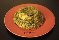 Bowl cake saumon épinards