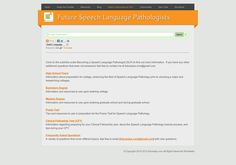 69 best SLP Career images on Pinterest   Languages, Speech and ...