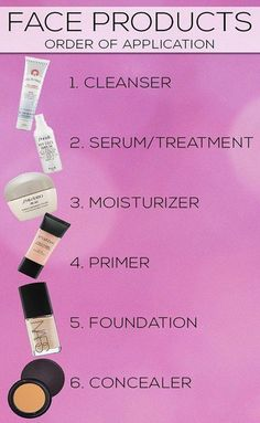Know Which Order To Put On Your Face Products - Tips For Looking Great On Your Wedding Day - Photos