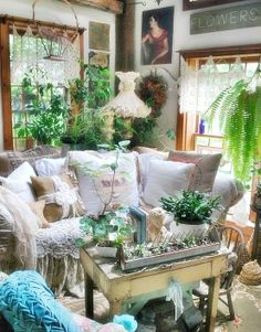 Another pretty living area.