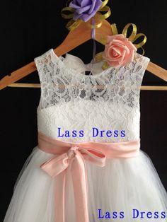 Custom Make  Satin Aline Tea Length Flower Layers by lassdress, $45.00