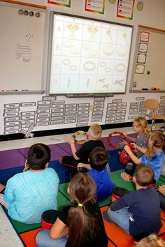 Kindergarten music - Rhythm Instruments Cutting Down on the Chaos – Kindergarten music Kindergarten Music, Preschool Music, Teaching Music, Learning Piano, Elementary Music Lessons, Piano Lessons, Elementary Schools, Primary Lessons, Library Lessons