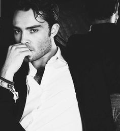 ED WESTWICK He's Chuck Bass. And British. And perfect.