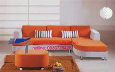 sofa vải nỉ sang trọng 010