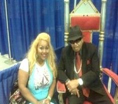 "Schatar ""Hottie"" Sapphira and Joe Jackson"