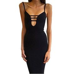 Esanech 5118 Womens Sexy Long Sleeve Cut-Out Bandage Bodycon Clubwear Midi Dress (Balck)  The best clothing deals are fashion forward designs that are  in style and that you are comfortable in.  Therefore take a look at these best clothing deals under $10. There are many types of dresses to chose from  A line dress, Maxi dress, flowing dress and you will find all kinds of stylish  colors such as red, blue, purple, green, black and yellow.