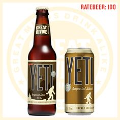 YETI IMPERIAL STOUT - GREAT DIVIDE BREWING COMPANY