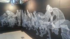 Moisés Mahique en JUSTMAD5 Madrid.  #ArteContemporáneo #ContemporaryArt #Art #Arte #Arterecord 2014 https://twitter.com/arterecord