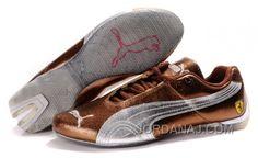 http://www.jordanaj.com/mens-puma-ferrari-in-brown-silver-authentic.html MEN'S PUMA FERRARI IN BROWN/SILVER AUTHENTIC Only $88.00 , Free Shipping!