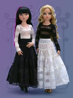 """Woeful Black Tiered Skirt   Wilde Imagination    """"It makes me happy in a strange sort of way To shop for clothes that others gave away; A skirt, a jacket, a dress or some tops Small gifts to me from my favorite THRIFT SHOPS"""""""