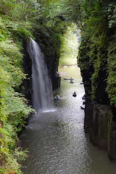 Takachiho Waterfall ,japan