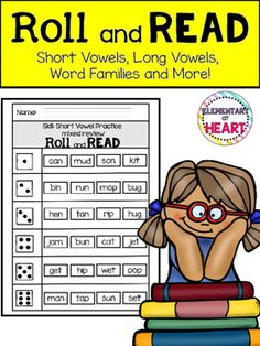 This product is an excellent resource to use in your classroom!This is a great literacy center idea to involve phonics!10 worksheets included!JUST PRINT and use DICE!Included:- Mixed review ( short vowels CVC)- Mixed review 2 ( short vowels CVC)- Diagraphs bl-, br-- Word Family -ay - Ending Sounds Words -nt, -nd, -mp- Word Families ain, -ake, -ail- Word Families -eel, -eep, -eet- Word Families -ice, -ite, ide- Word Families -ight, -ife, ile- Word Families -oke, -ope, -ome, -one, -ore