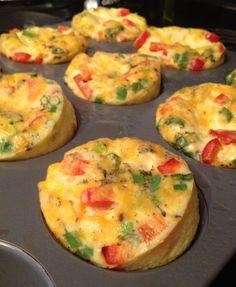 Gluten free mini quiche