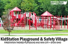 Fire Station Themed Playground Stow Ohio