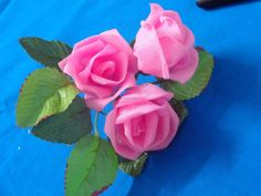 Роза из органзы Diy Wedding Flowers, Flower Bouquet Wedding, Faux Flowers, Paper Flowers, Rose Flowers, Organza Flowers, Flower Making With Cloth, Crafty Angels, Burlap Rosettes